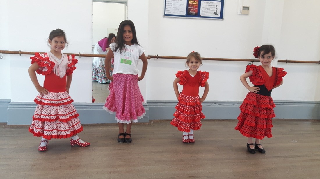 Kids Flamenco Lessons